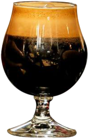 Picture of a glass of brewed beer from Rock Island Brewing Company
