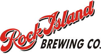 Logo for the Rock Island Brewing Company